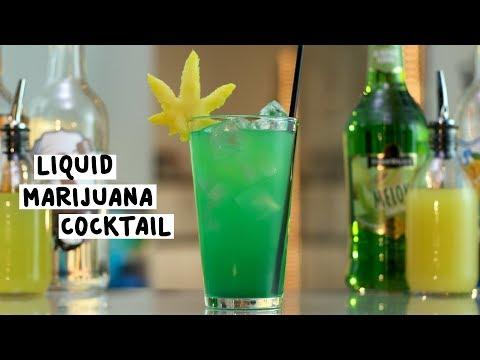 Liquid Marijuana Cocktail - Tipsy Bartender