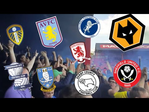 The Best Football Fans In The Championship 2017/18!!!