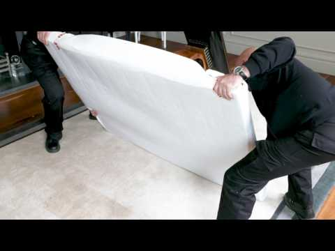 How to dismantle and pack large dining table
