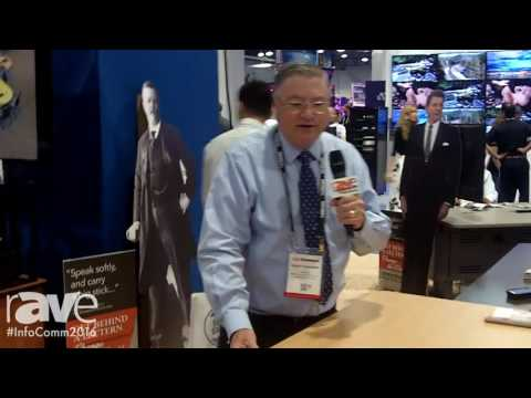 InfoComm 2016: Spectrum Industries Shows Off Its Freedom One eLift Lectern