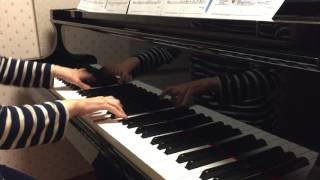 ピアノ演奏「シルエット/ジャニーズWEST」