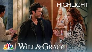 Grace Meets the West Side Curmudgeon - Will & Grace (Episode Highlight)