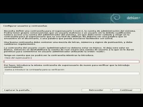 Como Descargar e  Instalar   Debian GNU/LINUX(USB)