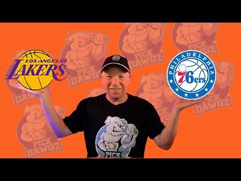 Los Angeles Lakers vs Philadelphia 76ers 3/25/21 Free NBA Pick and Prediction NBA Betting Tips