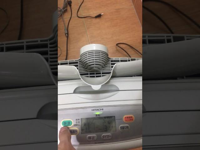 Máy hút ẩm sấy khô quần áo HITACHI RD-1050DKC nội địa nhật