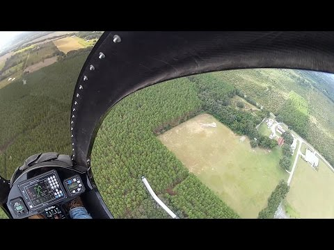Around the Patch in the Mosquito XET Helicopter