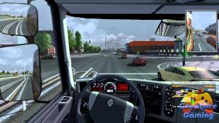 Euro Trucks Simulator 2 - Test Drive : Renault Premium - [Gameplay] [PC] [HD]