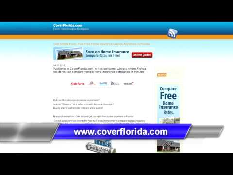 Cover Florida Compare Multiple Home Insurance CoverFlorida.com