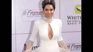 Nia Sharma HOT white dress in AWARD FUNCTION HD