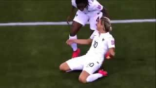 Amazing Goal WOMEN'S U 20 WORLDCUP  Claire Lavogez   FRANCE vs Costa Rica   06 08 2014