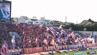 2018.3.17 J2#4 横浜Cvs新潟 @三ツ沢 大迫力の応援でした!