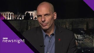 'British politics is becoming poisoned' says Yanis Varoufakis - BBC Newsnight