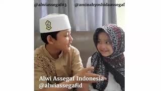 Video Alwi Assegaf dan Aminah Assegaf Sholawat Subhanallah Walhamdulillah #SiblingGoals download MP3, 3GP, MP4, WEBM, AVI, FLV Februari 2018