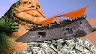 Hasbro is Crowdfunding Jabba's Sail Barge... for $2.5 Million? - Up At Noon Live!