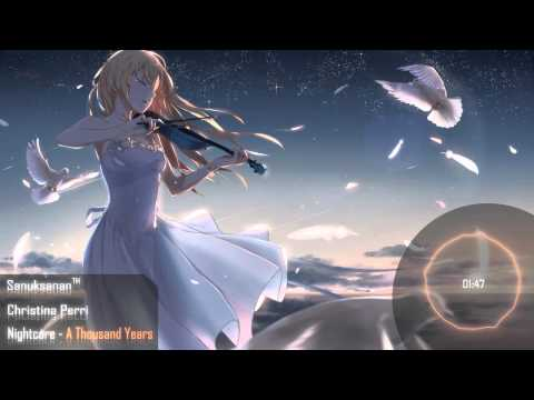 Nightcore - A Thousand Years - YouTube
