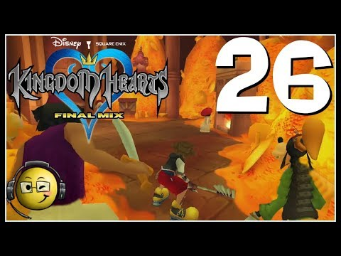 Let's Play Kingdom Hearts HD Final Mix (Blind) Part 26: The Treasures Within!