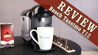 Bosch Tassimo T12 Exclusive Review