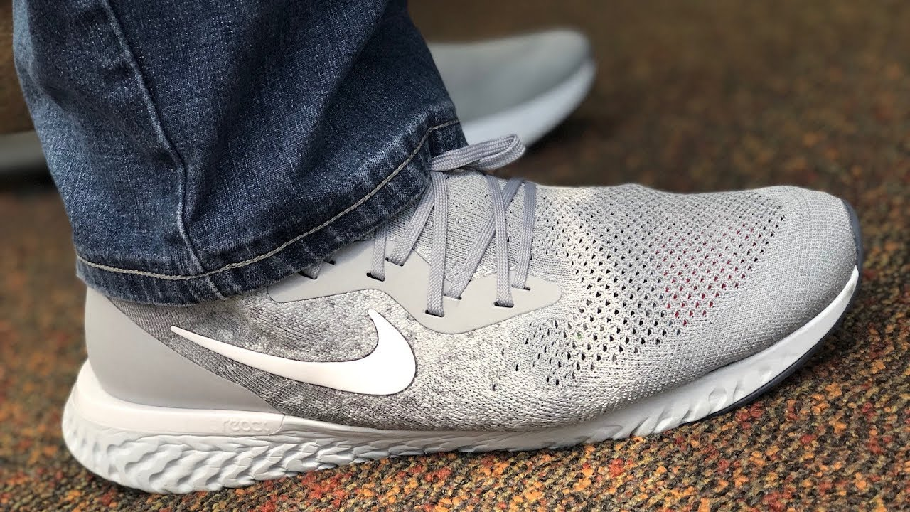 sports shoes bf83e 6a090 Nike Epic React Flyknit Day 1 Review  Pros and Cons