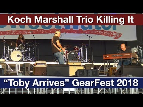"""Greg Koch and Koch Marshall Trio Perform """"Toby Arrives"""" Live at GearFest 2018"""