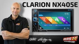 """Clarion NX 405 E -ANLEITUNG- Multimedia Autoradio mit 6,5"""" Touchscreen und Bluetooth"""