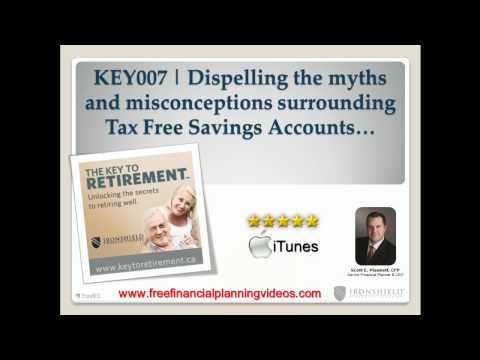 Dispelling the Myths and Misconceptions Surrounding Tax Free Savings Accouns | KEY007
