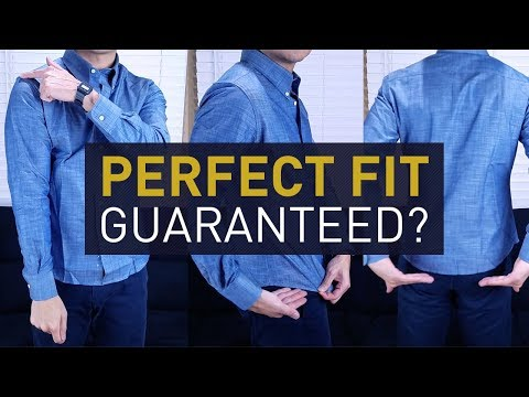 MTailor Custom Shirt Review   First Look & Fit Check