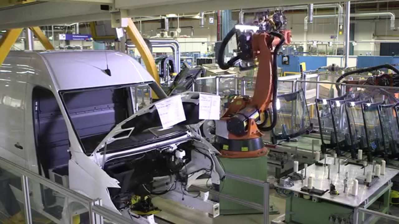 Mercedes Benz Sprinter >> Mercedes Benz Sprinter Assembly Line Part 2 - YouTube