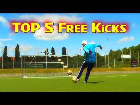 Faiz Subri insane knuckleball free kick Top 5 Free Kicks Amazing goal  Goal of the Week