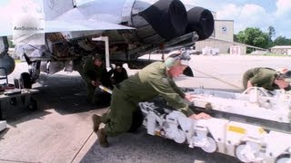 U.S. Marine Corps F/A-18 Jet Engine Maintenance