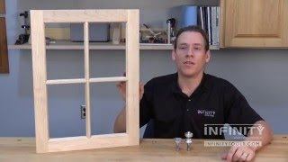 Infinity Cutting Tools - Using Window Sash Bits (55-801)