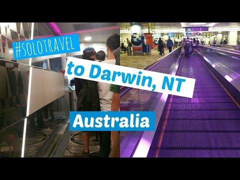 #solotravel to Darwin NT, Australia Travel Vlog