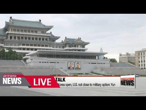 [LIVE/ARIRANG NEWS] Communication lines with North   Korea open, U.S. not close