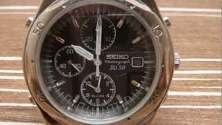 Seiko chronograph review