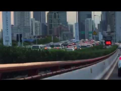 Shanghai China 5p traffic