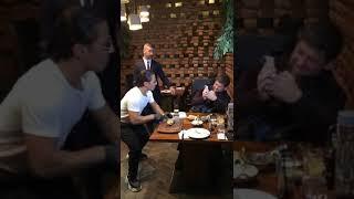 Известный турецкий повар Нусрет Гекче приготовил обед для Рамзана Кадырова 🥂