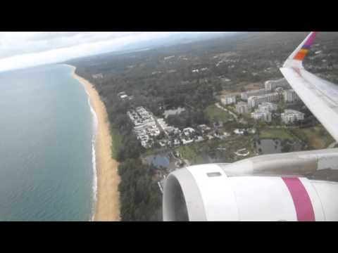 Airbus A320 take off Phuket Airport