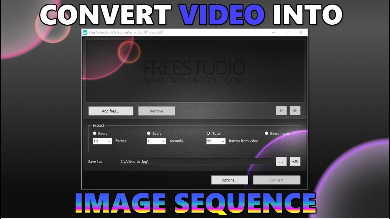 make jpegs into video