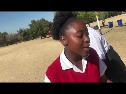 Talented young scholar singing jikeleza my love