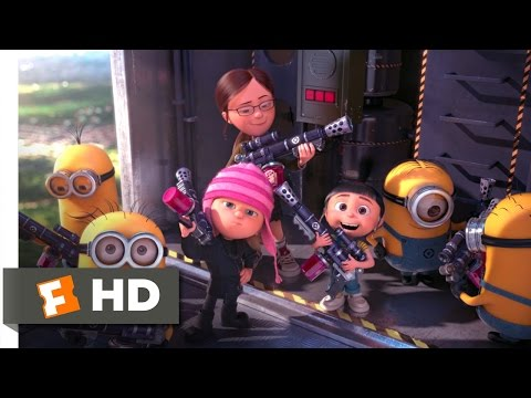 Thumbnail: Despicable Me 2 (10/10) Movie CLIP - Battling the Minions (2013) HD