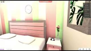 aesthetic roblox bedroom bloxburg tour