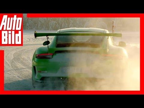 Porsche GT3 RS (2018) Über die Eispiste mit Walter Röhrl