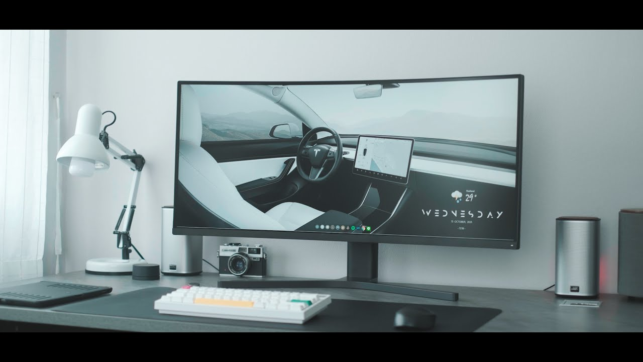 Mi Curved Gaming Monitor   จอ Gaming สาย Minimal จะดูหนัง ทำงาน เล่นเกม สุดทุกทาง