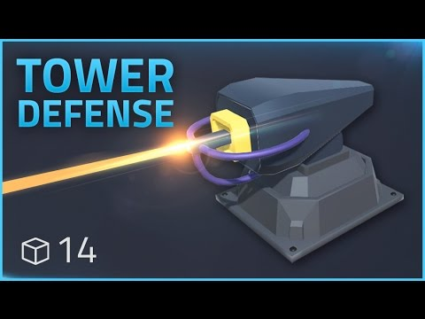How to make a Tower Defense Game (E14 LASER BEAMER) - Unity Tutorial