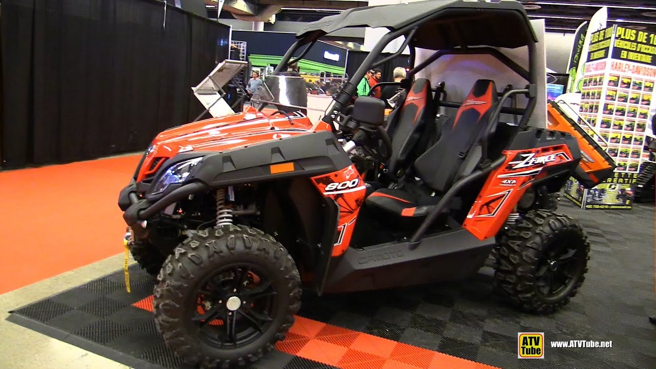 2015 CfMoto Z-Force 800 ATV - Walkaround - 2015 Salon Moto de Montreal ...