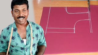 Easy Blouse Cutting and Stitching by Using Simple  Blouse | Tailor Bro