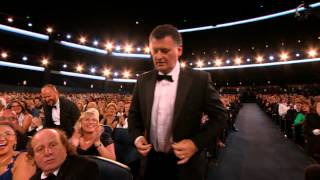 Steven Moffat Wins for Writing for a Miniseries, Movie or a Dramatic Special