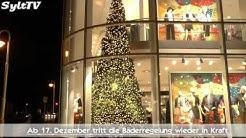 Öffnungszeiten Sylt an Weihnachten, Silvester + Neujahr