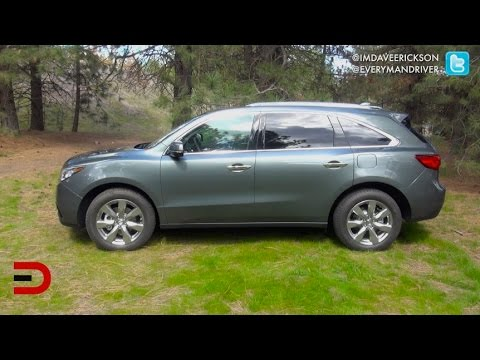 Team Driving Review: 2016 Acura MDX SH-AWD On Everyman Driver