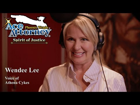The Voices of Ace Attorney: Wendee Lee as Athena Cykes