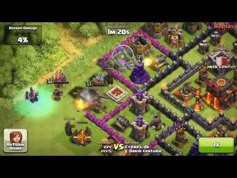 Clash of Clans, Witch defense (successful)